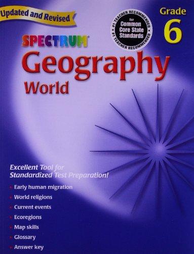 9780769687261: Geography, Grade 6: The World (Spectrum)