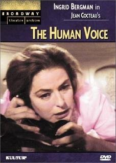 9780769796116: The Human Voice (Broadway Theatre Archive)