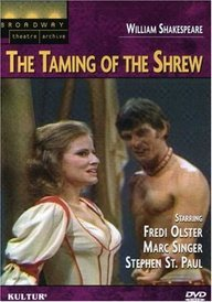9780769796222: The Taming of the Shrew (Broadway Theatre Archive)