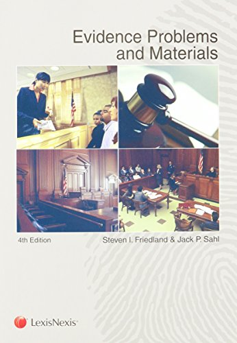 9780769845944: Evidence Problems and Materials