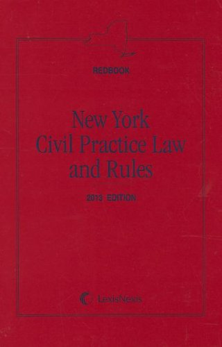 9780769846354: New York Civil Practice Law and Rules