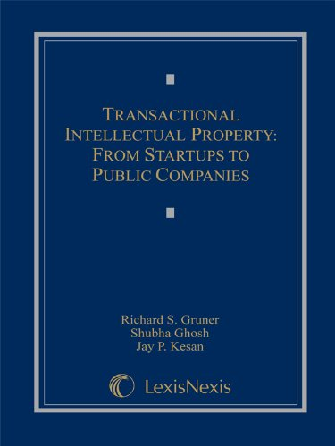 9780769846842: Transactional Intellectual Property: From Startups to Public Companies