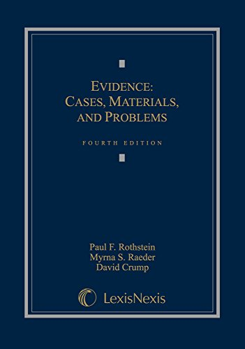 9780769848891: Evidence: Cases, Materials, and Problems