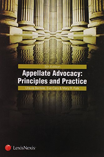 9780769849119: Appellate Advocacy: Principles and Practice