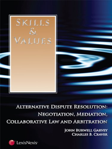 9780769851198: Skills & Values: Alternative Dispute Resolution