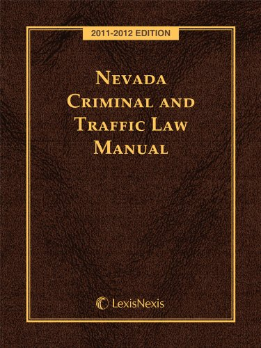 9780769853963: Nevada Criminal and Traffic Laws with CD-ROM
