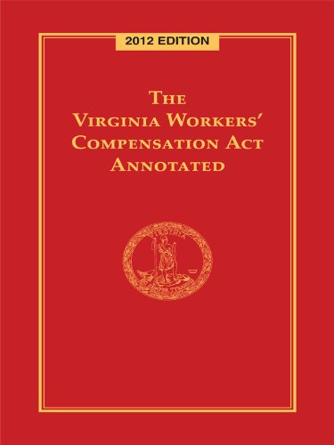 9780769855479: The Virginia Workers' Compensation Act Annotated