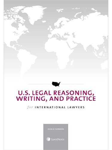 9780769856568: U.S. Legal Reasoning, Writing, and Practice for International Lawyers (2014)
