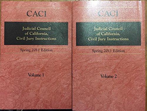 9780769857794 Judicial Council Of California Civil Jury