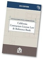 9780769863627: California Contractors License Law & Reference Book with CD-ROM