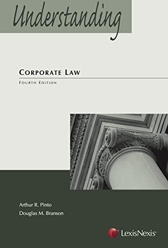 9780769865126: Understanding Corporate Law (The Understanding Series)