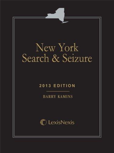 9780769866772: New York Search and Seizure (Softbound) (New York Search & Seizure)