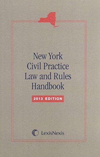 9780769868127: New York Civil Practice Laws & Rules Handbook (Softbound)