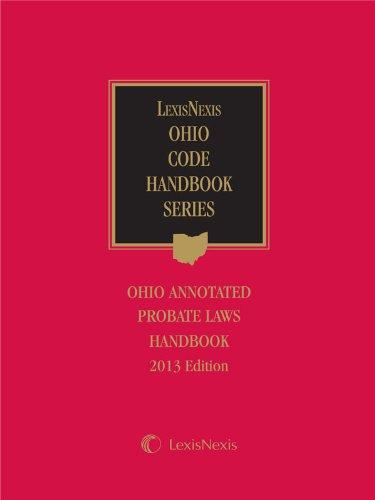 9780769869544: Anderson's Ohio Probate Law Handbook (2013)