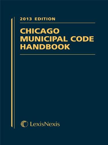 9780769881546: Chicago Municipal Code Handbook