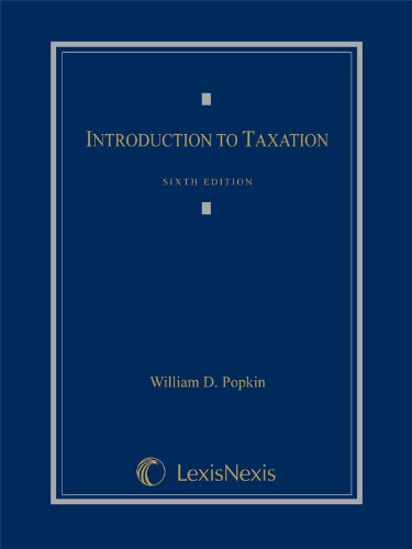 9780769881980: Introduction to Taxation