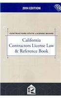 9780769894355: California Contractors License Law & Reference Book with CD-ROM (2014)