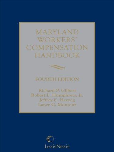 9780769895079: Maryland Workers' Compensation Handbook