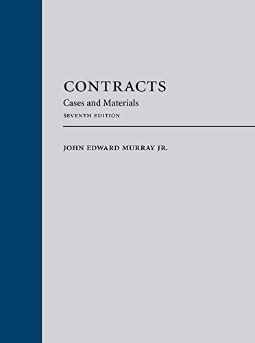 9780769898056: Contracts: Cases and Materials (2015)