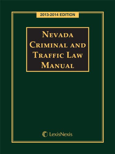 9780769899688: Nevada Criminal and Traffic Laws (2013-2014)