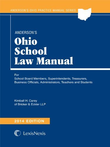 9780769899985: Anderson's Ohio School Law Manual 2014 Edition