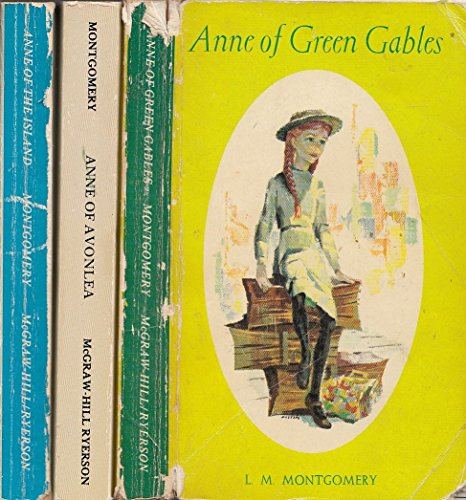 Anne of Green Gables Boxed Set 3VOL: Montgomery, L M