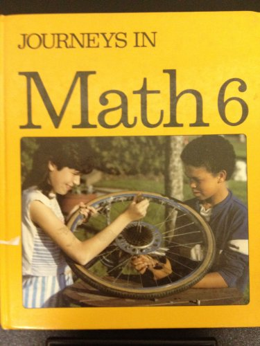 9780770214234: Journeys in Math 6 Student Textbook