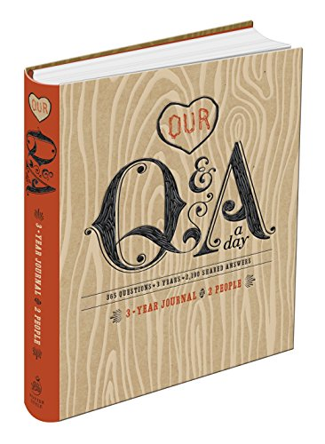 9780770436681: Our Q&A a Day: 3-Year Journal for 2 People