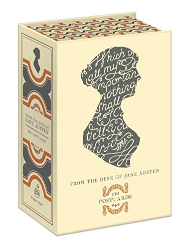 9780770436698: From the Desk of Jane Austen 100 Postcards /Anglais