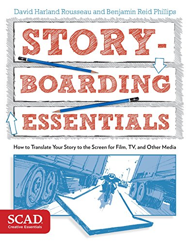 9780770436940: Storyboarding Essentials: SCAD Creative Essentials (How to Translate Your Story to the Screen for Film, TV, and Other Media)