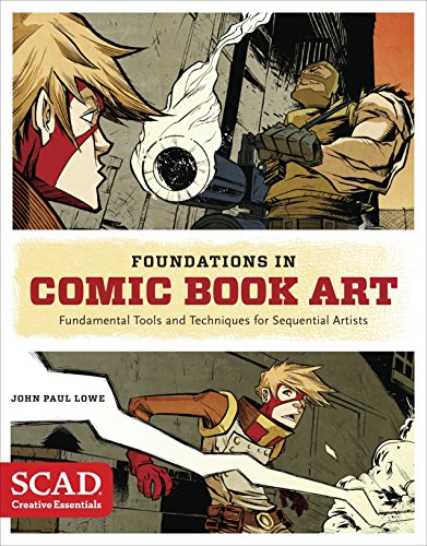 9780770436964: Foundations in Comic Book Art: SCAD Creative Essentials (Fundamental Tools and Techniques for Sequential Artists)