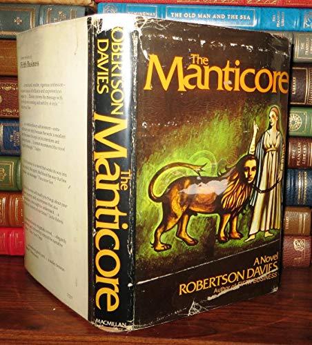 9780770508913: Title: The manticore A novel