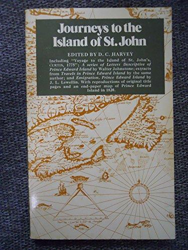 Journeys to the Island of St. John: D. C., ed.