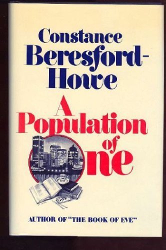 9780770515751: A population of one: A novel