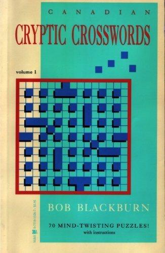 Canadian Cryptic Crosswords: Blackburn