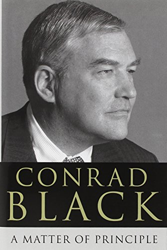 A Matter of Principle (Signed, dated First: Black, Conrad