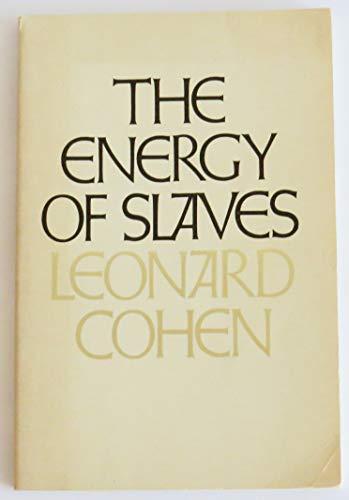 The energy of slaves: Cohen, Leonard
