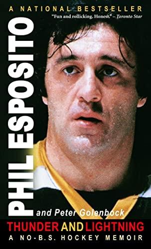 9780771030864: Thunder and Lightning : A No-B. S. Hockey Memoir