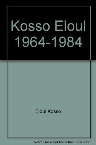 Kosso Eloul 1964-1984, 20 Years of Sculpture: Kosso Eloul
