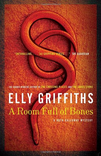 Cover of the book, A Room Full of Bones (Ruth Galloway, #4).