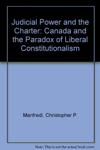 9780771056598: Judicial Power and the Charter (Oxford)