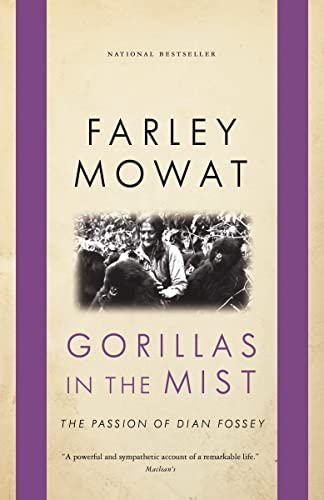 Gorillas in the Mist (0771064683) by Farley Mowat