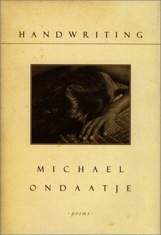 Handwriting: Ondaatje, Michael