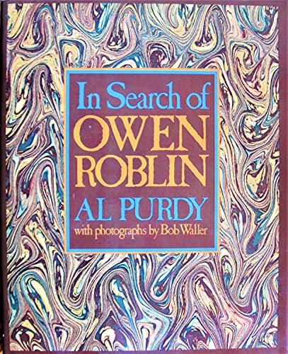 In search of Owen Roblin: Purdy, Al