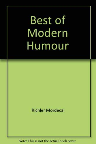 9780771074899: Best of Modern Humour