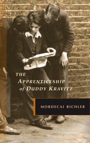 "an analysis of the apprenticeship of duddy kravitz written by mordecai richler 11 responses to ""the apprenticeship of duddy kravitz, by mordecai richler"" kerry says: january 12, 2010 at 4:56 pm 