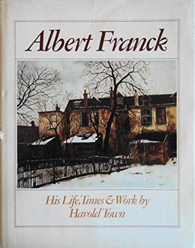 Albert Franck: Keeper of the Lanes. His: Albert Franck) Town,