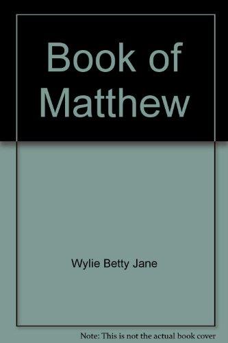 9780771090240: Book of Matthew