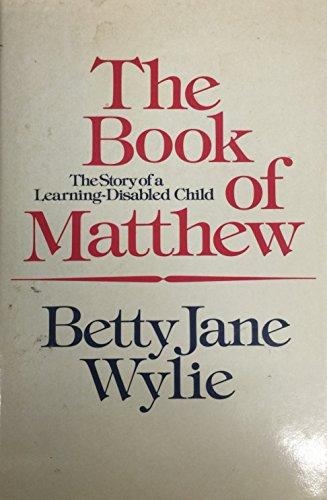 9780771090592: Book of Matthew