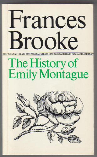 9780771091278: The History of Emily Montague (New Canadian Library)